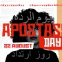 22 August 2020 – First International Apostasy Day